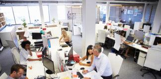 Projektowanie biura według przepisów BHP